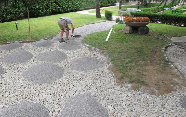 Pavimentazioni esterne sala costruzioni s r l - Fai da te pavimento esterno ...