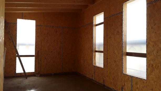 bernareggio - pareti in legno
