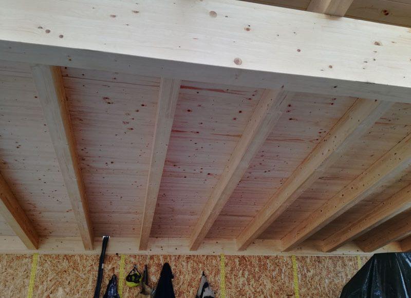 lurago sottotetto in legno