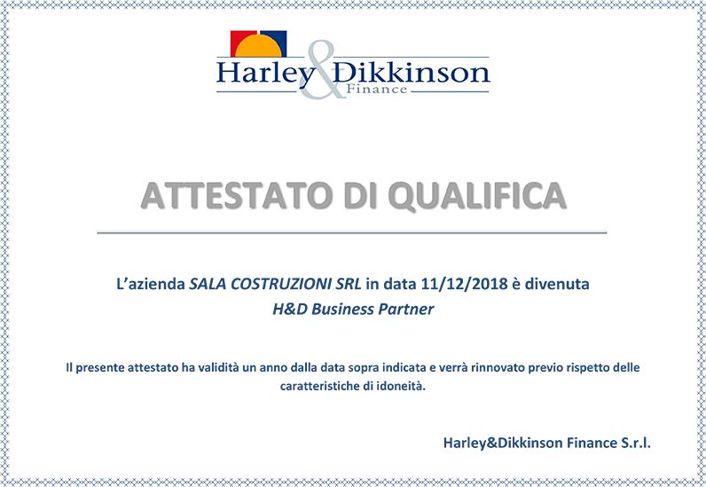 Attestato-harley-dikkinson