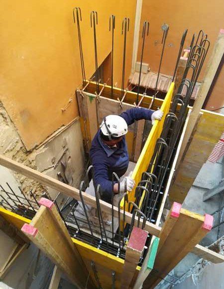 ristrutturazione edificio merate